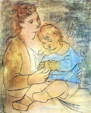 Pablo-Picasso-Mother