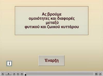 http://ebooks.edu.gr/modules/ebook/show.php/DSGL101/560/3669,15930/extras/Activities/kef_3_Omoiotites_Diafores_fytiko_zoiko_kyttaro/kef_3_Omoiotites_Diafores_fytiko_zoiko_kyttaro.htm